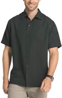 Van Heusen Short Sleeve Stripe Button-Front Shirt