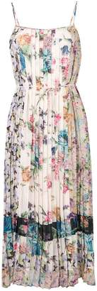 Zimmermann floral print pleated dress