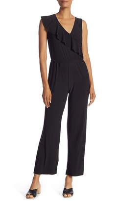 New York Collective Nadine Ruffle Front Jumpsuit