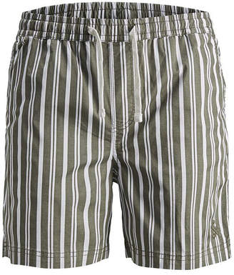 Jack and Jones Men Striped Beach Shorts