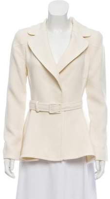 Magaschoni Structured Wool Jacket