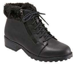 Trotters Below Zero Faux Fur-Lined Ankle Boots