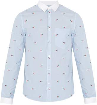 Gucci Striped cotton-poplin shirt