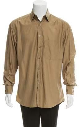 Gucci Silk Button-Up Shirt
