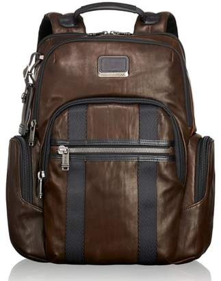 Tumi Alpha Bravo - Nellis Leather Backpack