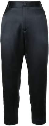 Nili Lotan high-waisted cropped trousers