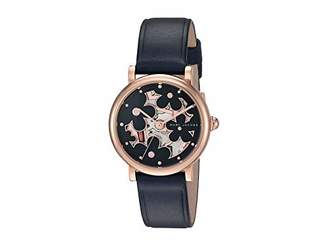 Marc Jacobs Women's Classic Stainless Steel Analog-Quartz Leather Strap