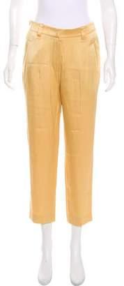 Brunello Cucinelli High-Rise Straight-Leg Pants
