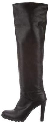Stuart Weitzman Leather Over-The Knee Boots
