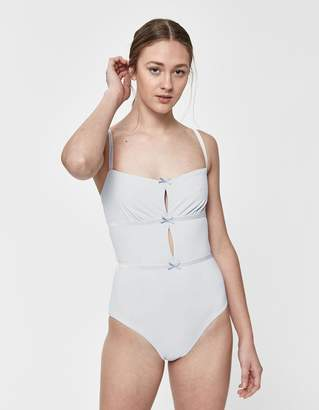 Solid & Striped Rose One-Piece Swimsuit