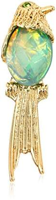 Betsey Johnson Stone Bird Brooches and Pin