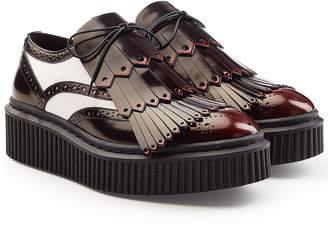 Burberry Platform Derby Kiltie Shoes