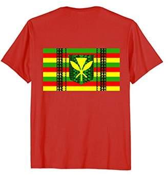 Tribal Kanaka Maoli Hawaiian Flag T-Shirt