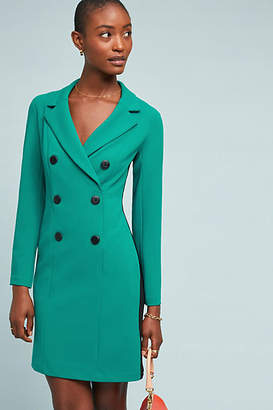Donna Morgan Double-Breasted Blazer Dress
