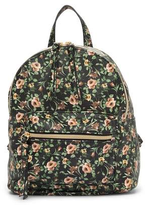 T-Shirt & Jeans Floral Backpack