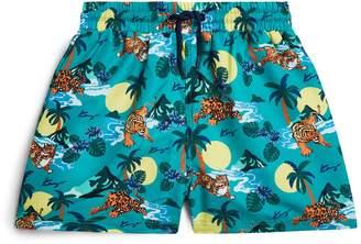 Kenzo Hawaii Tiger Swim Shorts