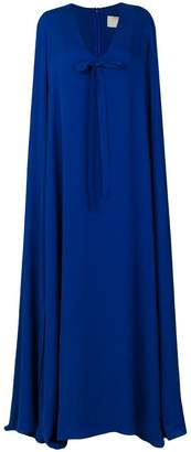 Elie Saab cape long dress