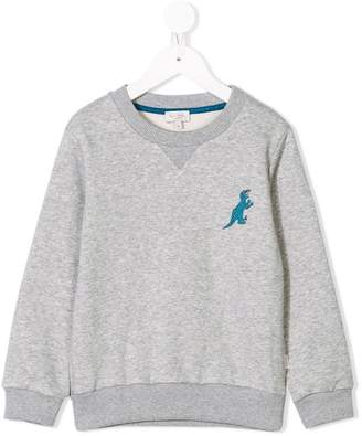 Paul Smith embroidered Dino sweatshirt