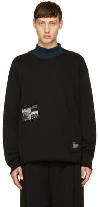 Diesel Black S-Osvaldo-LS-RA Patch Sweatshirt