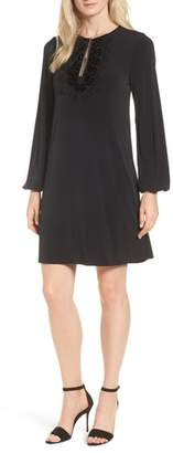 MICHAEL Michael Kors Lace Neck Shift Dress