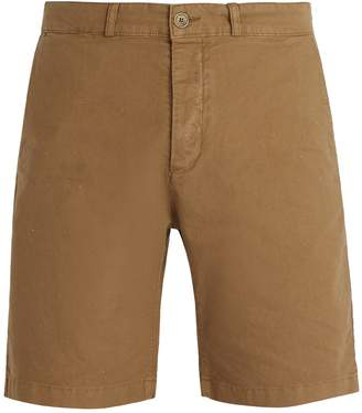 MAISON KITSUNÉ Straight-leg cotton-blend chino shorts