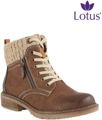 Next Womens Lotus Lace Up Ankle Boots