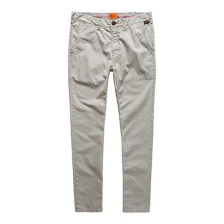 Grey Rookie Cotton Chinos