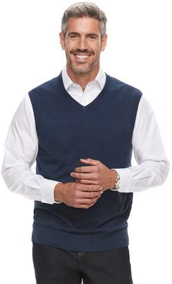 Croft & Barrow Men's Fine-Gauge Sweater Vest
