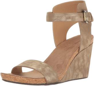 Adrienne Vittadini Footwear Women's Ted Wedge Sandal