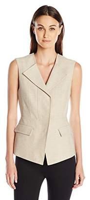 BCBGMAXAZRIA Women's Zip-Front Vest