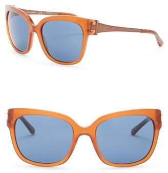 Tory Burch Square 57mm Sunglasses