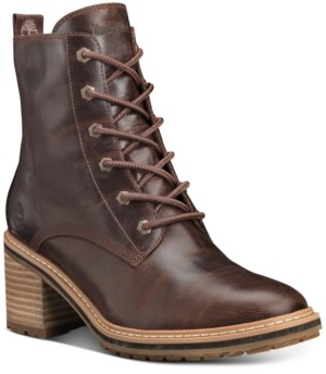 Timberland Women's Sienna High Lace-Up Waterproof Boots Women's Shoes