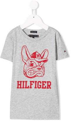 Tommy Hilfiger Junior dog print T-shirt