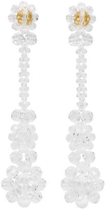 Simone Rocha Transparent Victorian Earrings