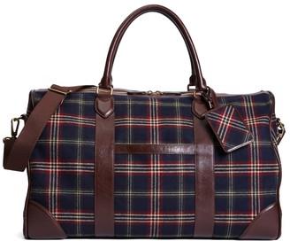 Brooks Brothers Signature Tartan Duffle Bag