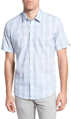 Zachary Prell Gaetano Plaid Sport Shirt