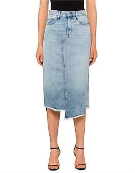 Rag & Bone Sakato Denim Skirt