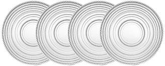 Godinger Lumina Set Of 4 10.5In Dinner Plates