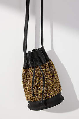 Cleobella Beaded Band Bucket Bag