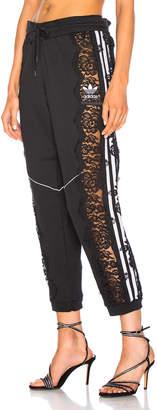 Stella McCartney x adidas Lace Trim Sweatpants