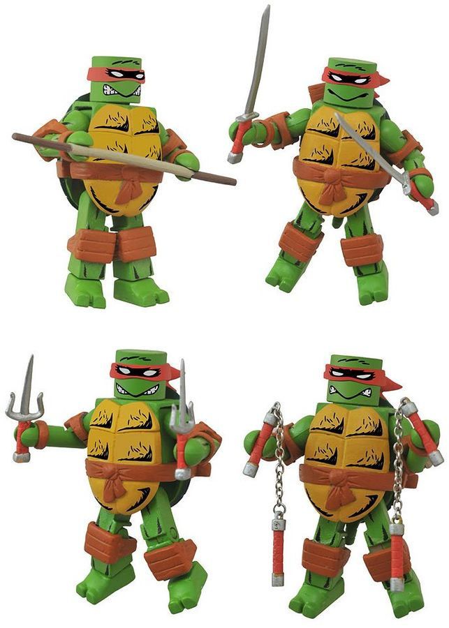 Diamond select toys Teenage Mutant Ninja Turtles Mirage Minimates Box Set by Diamond Select Toys