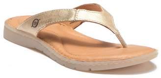 Børn Amelie Leather Flip Flop Sandal