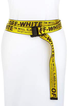 Off-White Classic Industrial Web Logo Belt