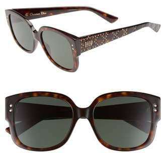 Christian Dior Square 54mm Sunglasses