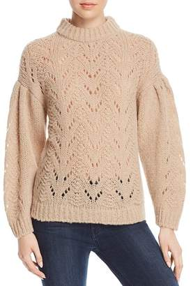 Kate Spade Pointelle Drop Shoulder Sweater