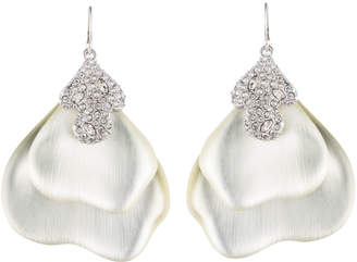 Alexis Bittar Crystal Encrusted Abstract Earring