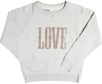 Zadig & Voltaire Zadig&voltaire Love Embellished Cotton Sweatshirt