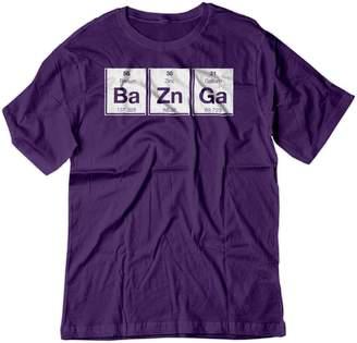 Theory BSW Men's Bazinga Periodic Table Big Bang Sheldon Cooper Shirt MED