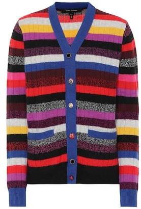 Marc Jacobs Striped cashmere cardigan