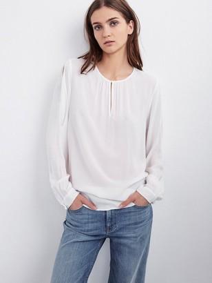 Graham & Spencer Velvet By Velvet by Crescent Gene Shirt - XS - White